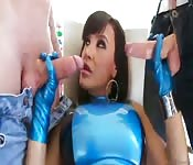 Babe enjoyed being double penetrated