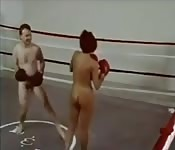Vintage boxing and wrestling