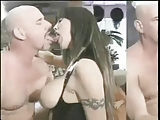 Dominatrix With Large Tits Shows Man Whose Boss TasteMyself
