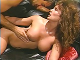 Ashlyn Gere banged on black leather