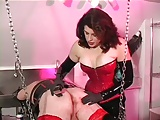 Dominatrix cross dresser