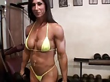 Female Bodybuilder Flex