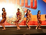Female Bodybuilders Arnold Classic 2013