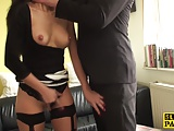 Degraded euro sub throatfucked furiously