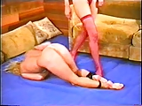 Alecia Ames vs Brunette catfight