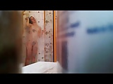 roommate Isabell in the shower