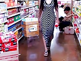 long skirt sexy dress shopping filipino babe